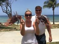 Lionfish catch