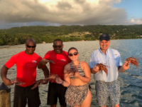 Lionfish kill in Jamaica