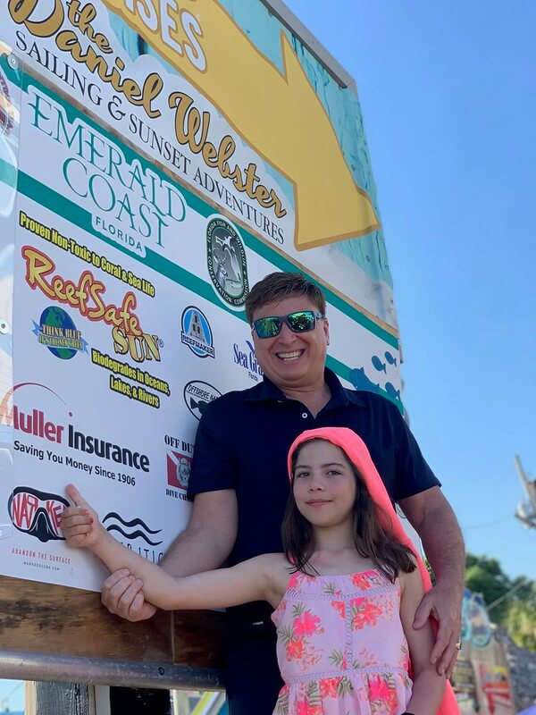Sponsor Roger J. Muller, Jr. Of Muller Insurance and niece Elizabeth