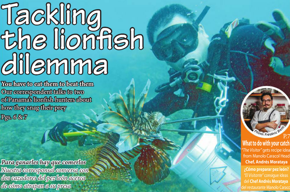Tackling the lionfish dilemma
