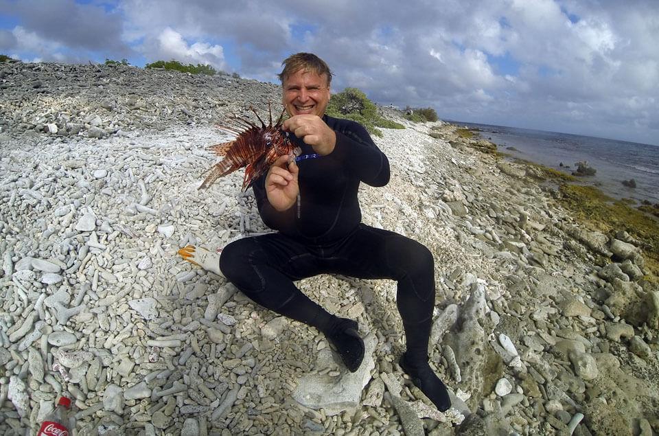 Lionfish Hunting Bonaire