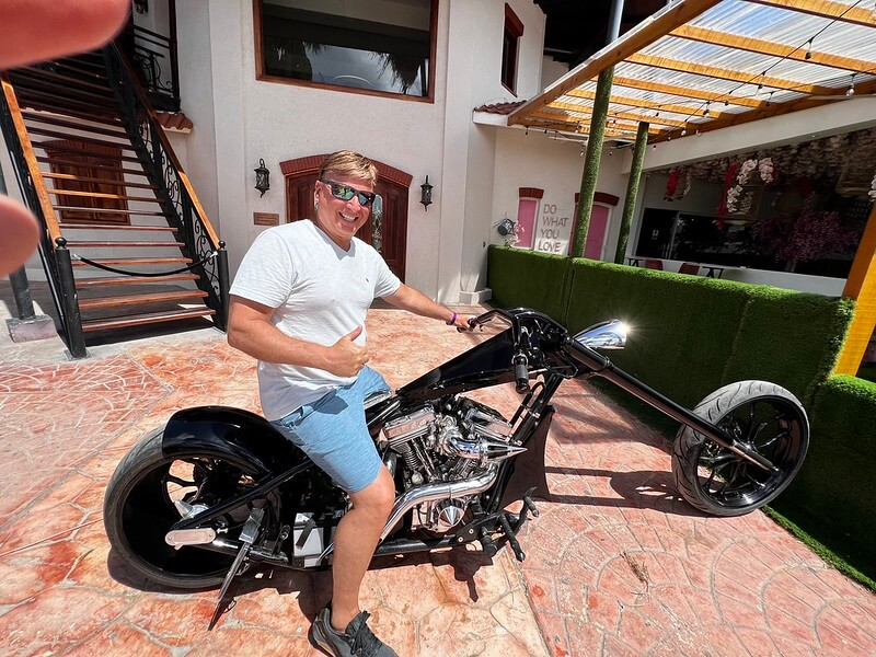 Aruba sunset with sailboat