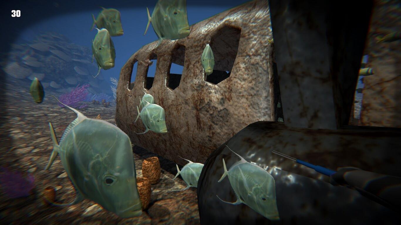 Lionfish Reef Patrol Game