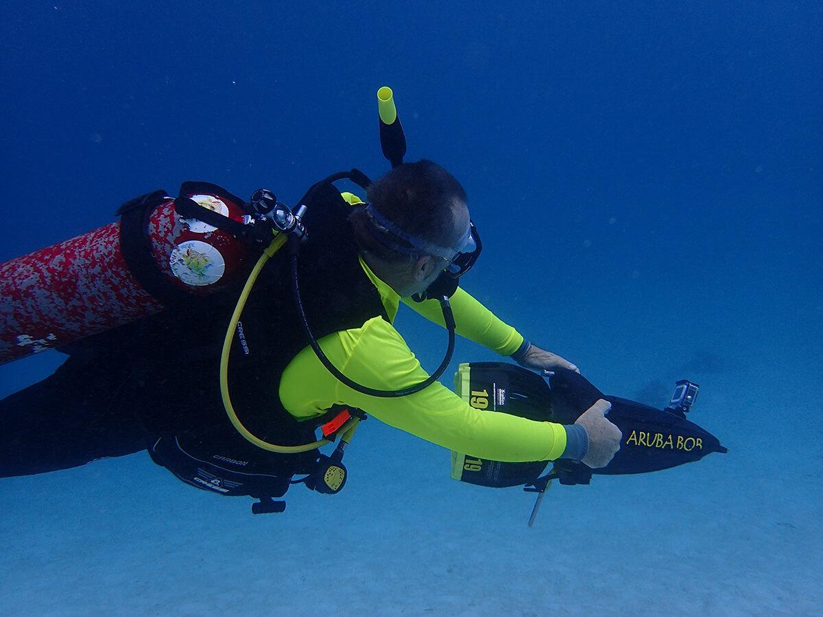 Ed Egan diving